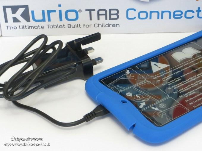 kurio tab connect charger