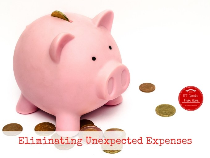 Eliminating Unexpected Expenses