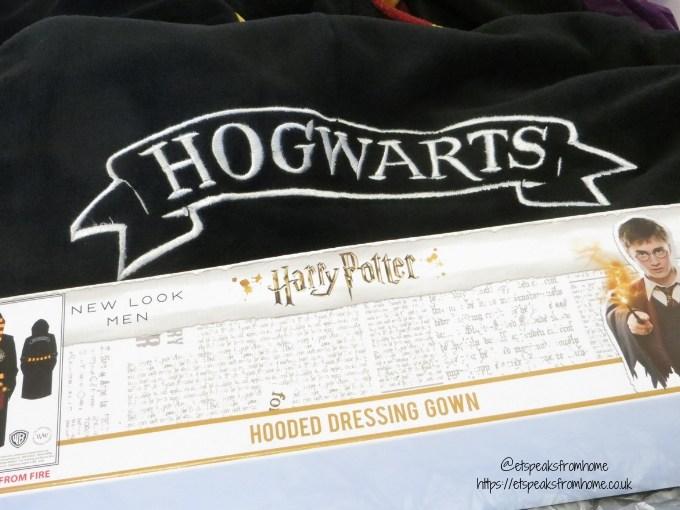 Harry Potter Pyjama hooded dressing gown logo back