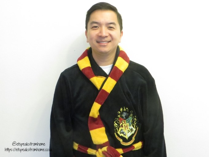 Harry Potter Pyjama hooded dressing gown