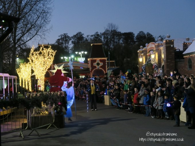 Magical Christmas at Drayton Manor 2018 parade
