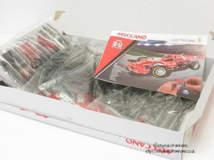 Meccano Formula 1 Ferrari box
