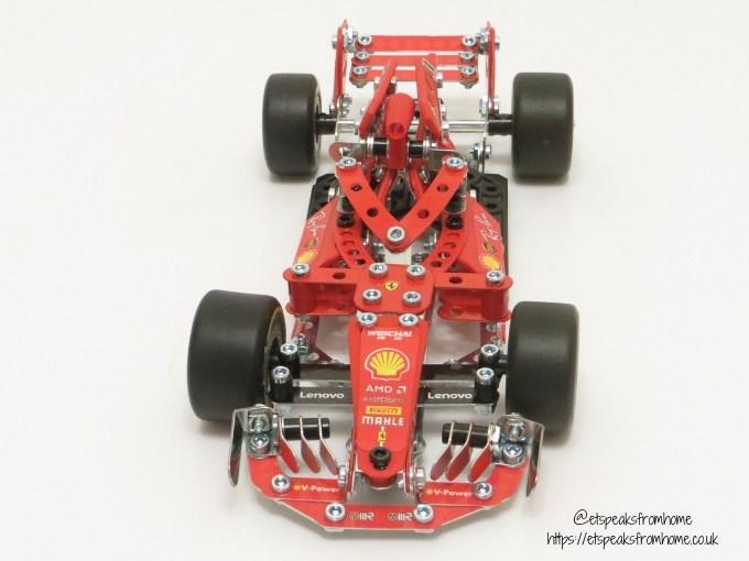 Meccano Formula 1 Ferrari front