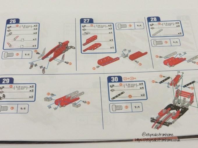 Meccano Formula 1 Ferrari instructions