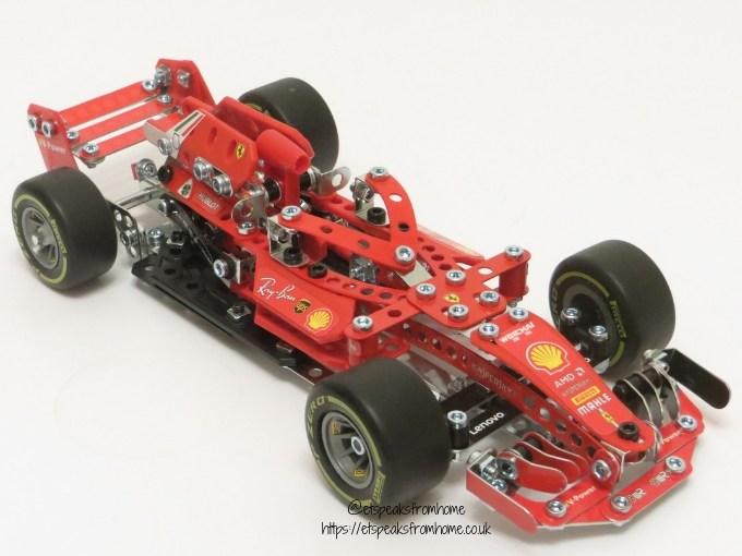 Meccano Formula 1 Ferrari side