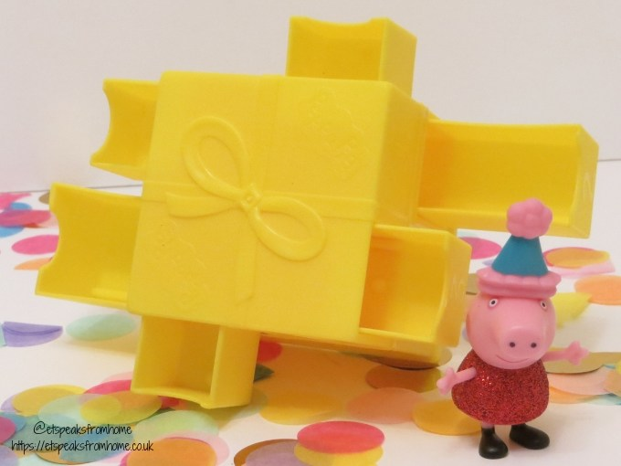 Peppa Secret Surprise Series 1 cube peppa pig glitter