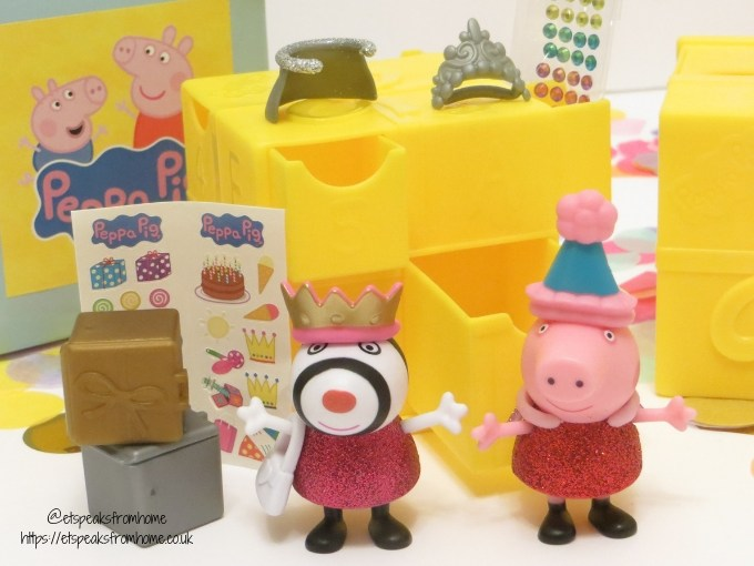 Peppa Secret Surprise Series 1 items