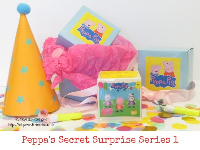 Peppa Secret Surprise Series 1 reveal