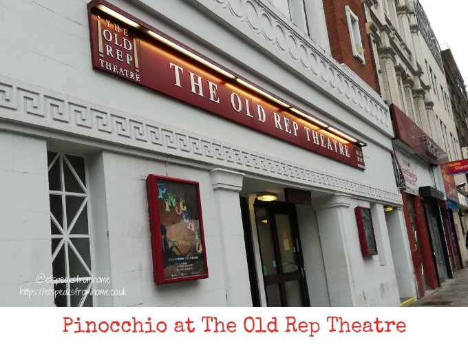 Pinocchio at The Old Rep review