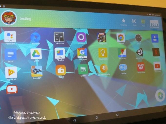 kurio smart 2 in 1 tablet app