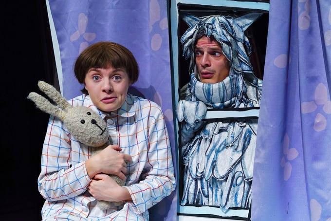 Emily Brown and the thing theatre scene