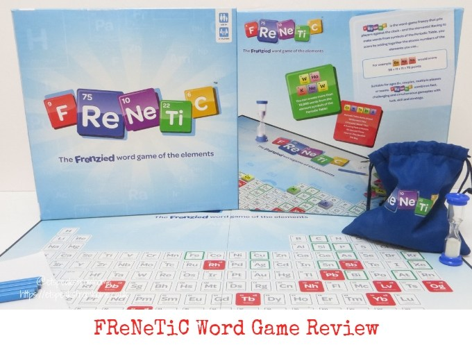 FReNeTiC word game board review