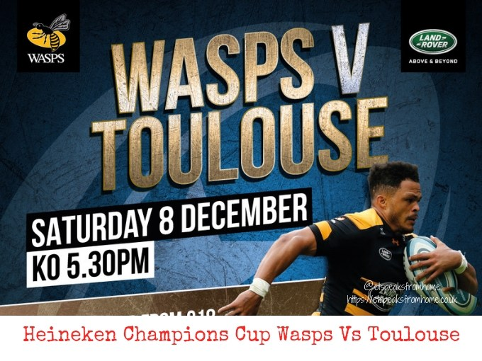 Heineken Champions Cup Wasps Vs Toulouse