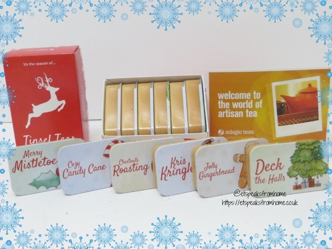 Limited Edition Tinsel Teas six tins