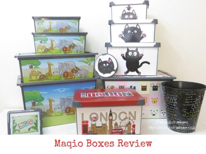 Maqio Boxes review