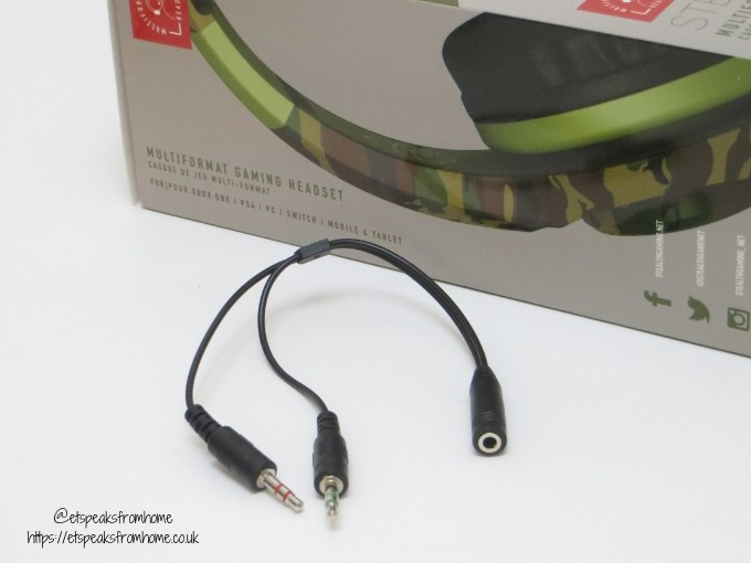 Stealth Cruiser Gaming Headset adapter