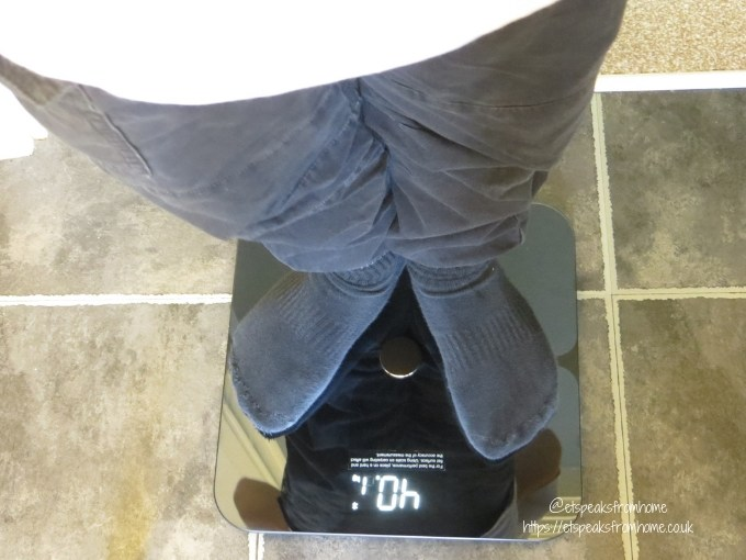 eufy BodySense Smart Scale using