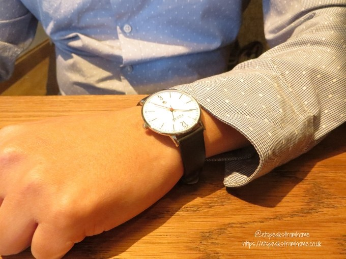 2019 Challenge with ADEXE Watch London mr c wearing