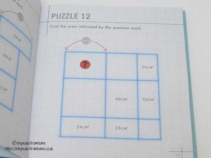 Area Maze Puzzles content