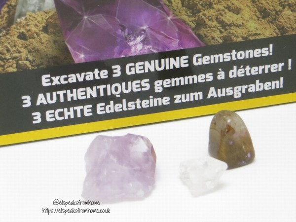 National Geographic STEM geuinue gemstones kit