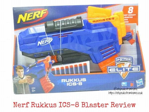 Nerf N-Strike Elite Rukkus ICS-8 Blaster Review