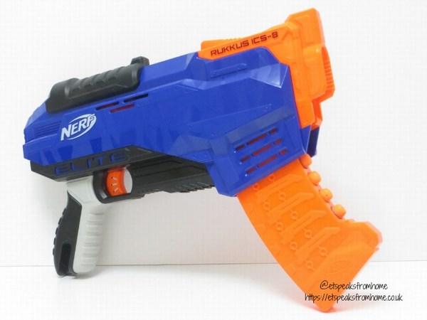 Nerf N-Strike Elite Rukkus ICS-8 Blaster side view