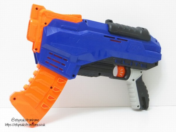 Nerf N-Strike Elite Rukkus ICS-8 Blaster side