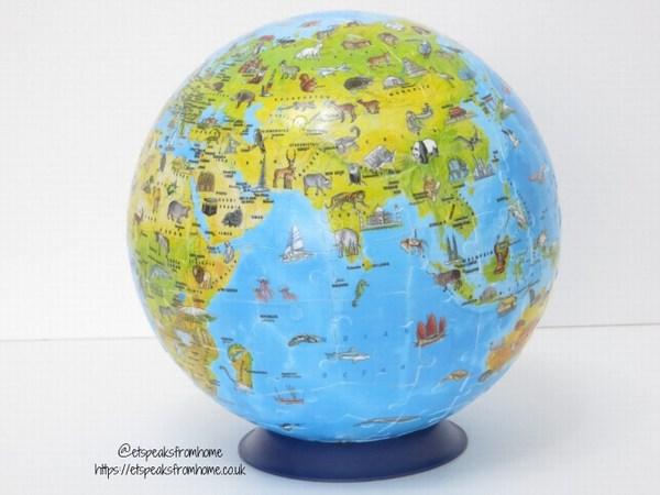 Ravensburger 3D Children's World Map Globe Puzzle base
