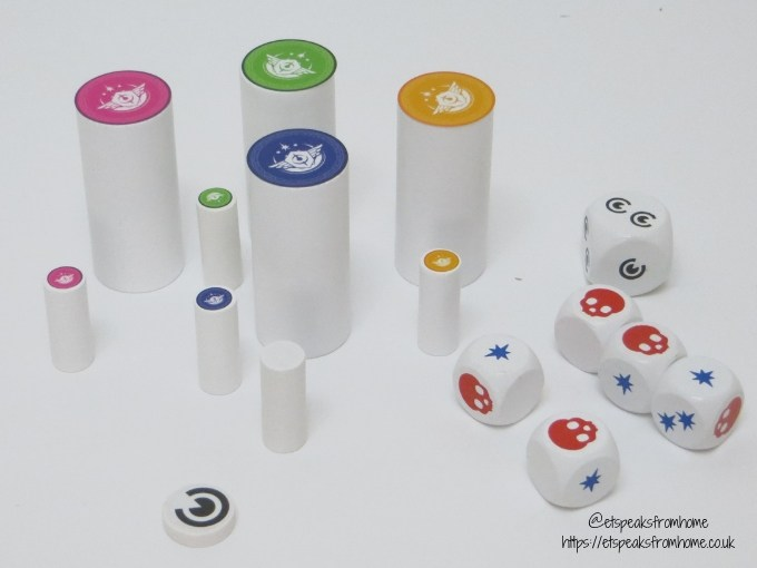 T.I.M.E Stories Game playing pieces
