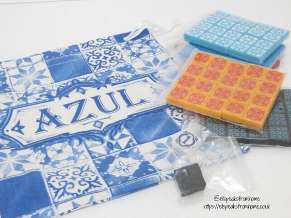 Azul Board Game resin tiles