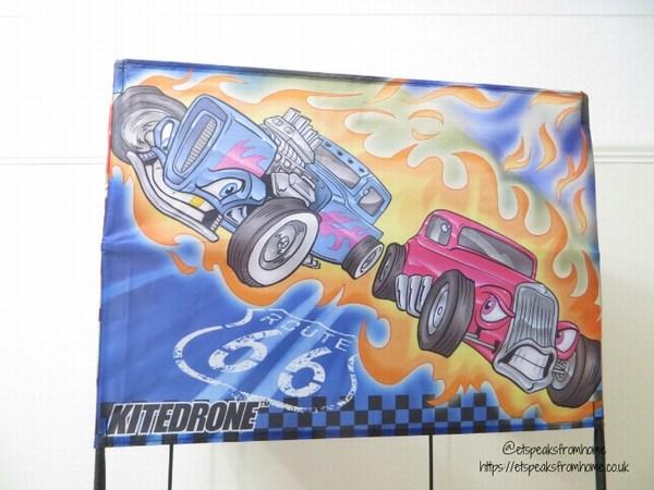 Kitedrone Kite hot rods