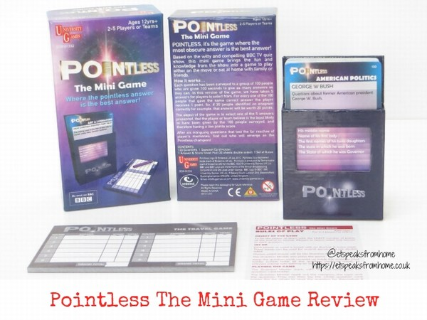 Pointless The Mini Game Review
