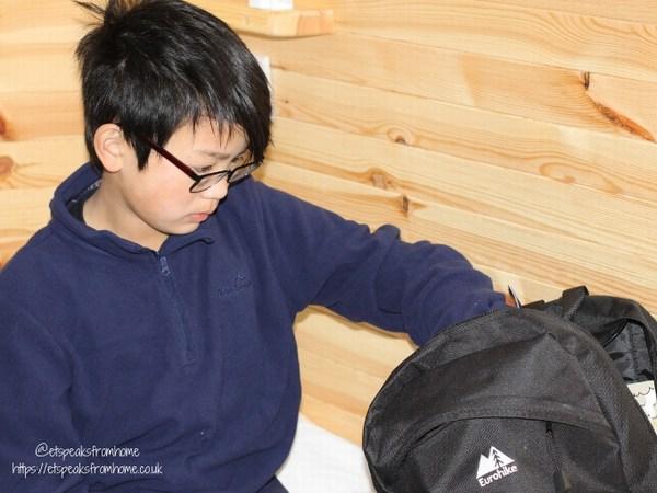 Alton Towers Resort Stargazing Pods millets backpack junior black