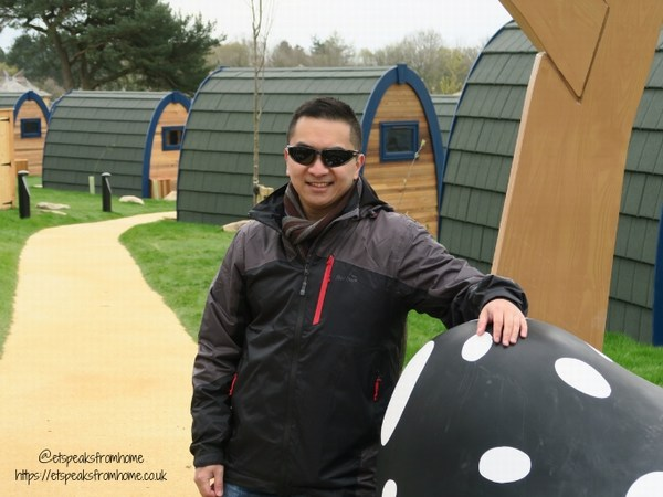 Alton Towers Resort Stargazing Pods millets black men