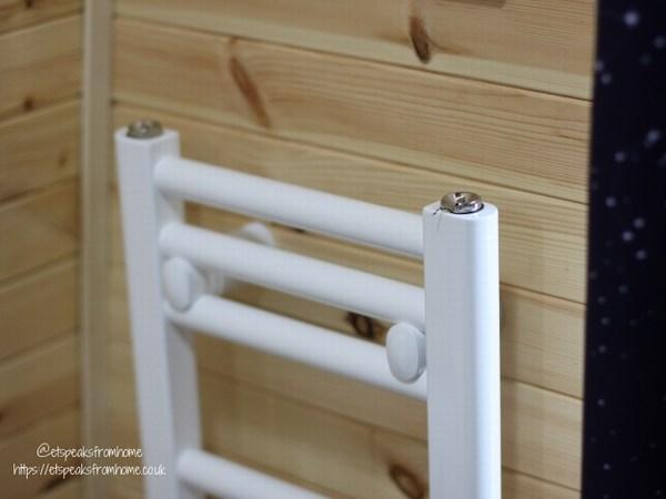 Alton Towers Resort Stargazing Pods radiator