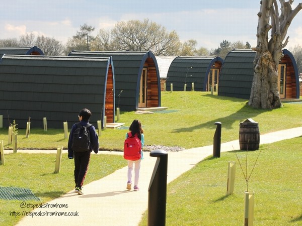 Alton Towers Resort Stargazing Pods site