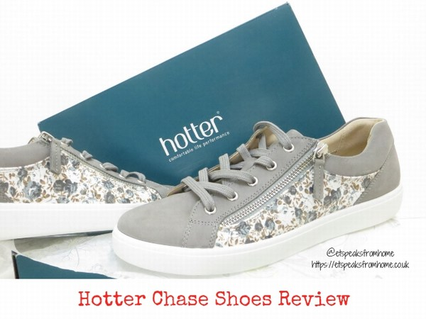 Hotter Chase Pebble Grey Floral Review