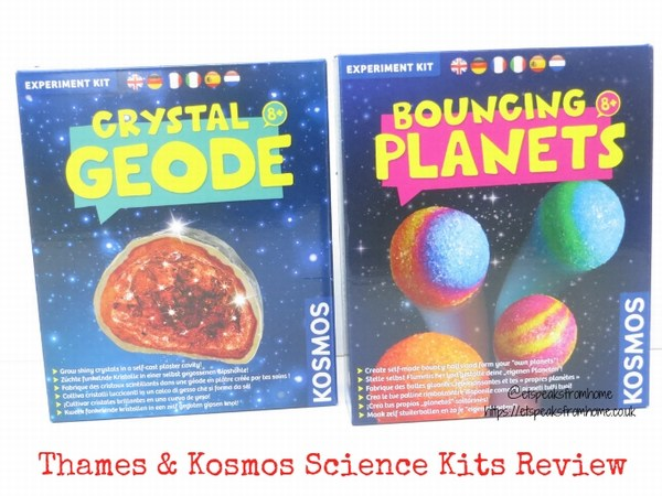 Thames & Kosmos Science Kits review