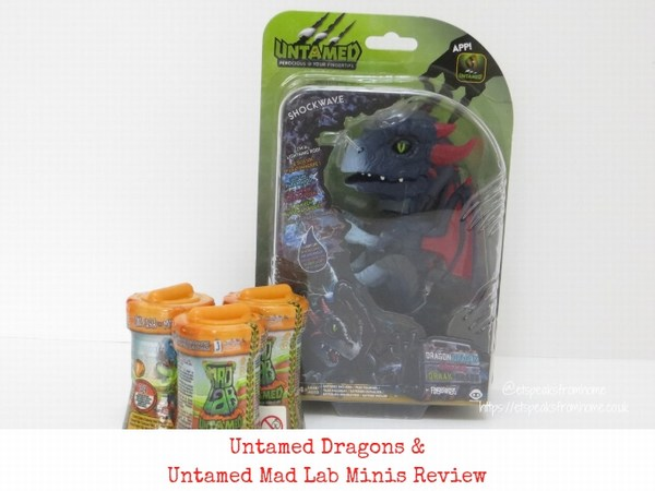 Untamed Dragons & Untamed Mad Lab Minis Review