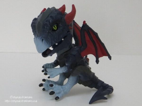 Untamed Dragons shockwave front