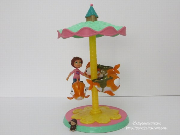 Wonder Park Flying Fish Carousel Review