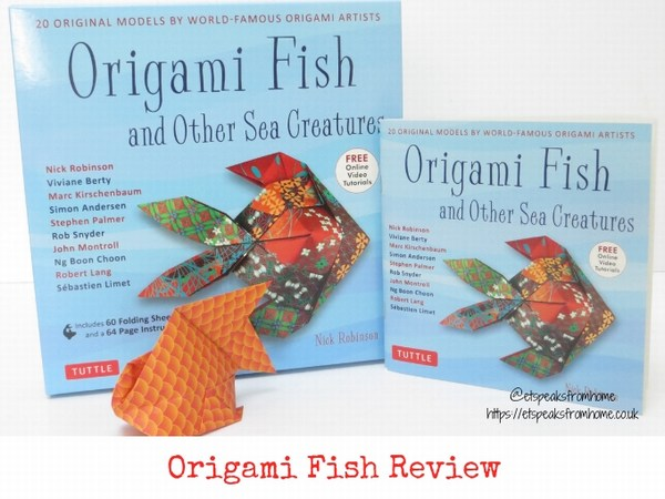 origami fish review