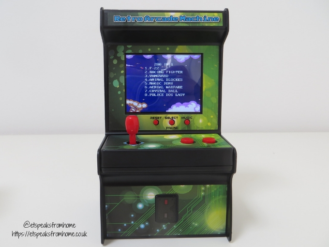 Interesting Children's Presents from Wicked Uncle retro arcade machine gift