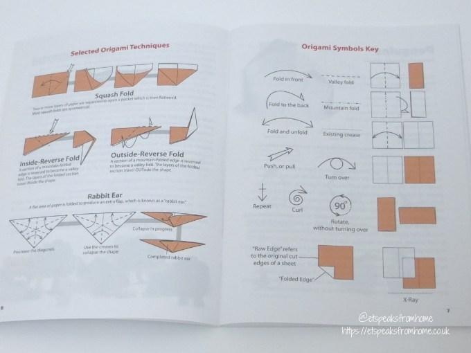 Origami Endangered Animals instructions