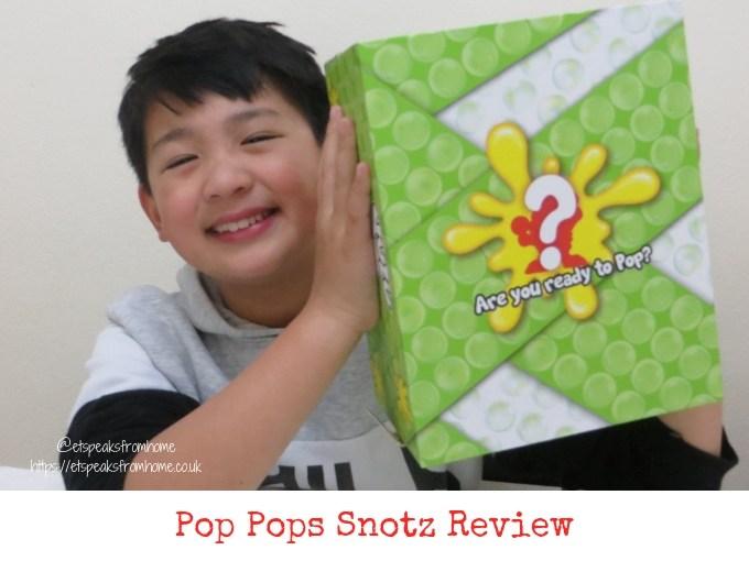 Pop Pops Snotz Series 1 Review