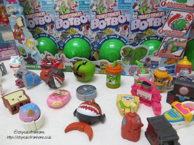 Transformers BotBots Series 2 characters