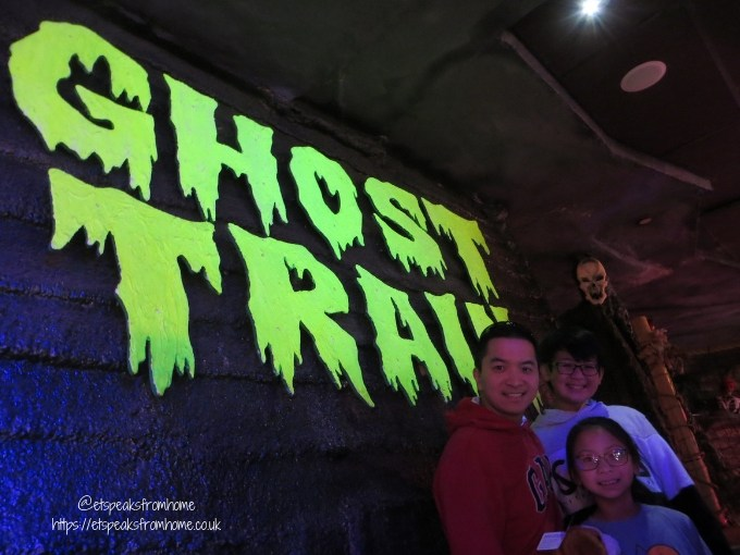 A Day Trip to Coral Island Blackpool ghost train