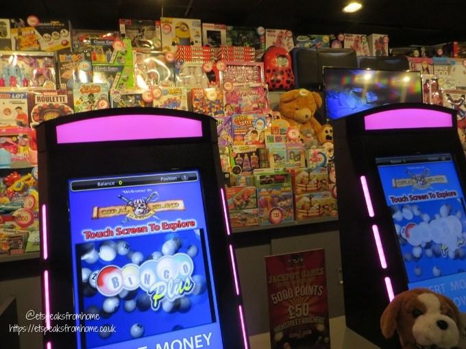A Day Trip to Coral Island Blackpool prize bingo