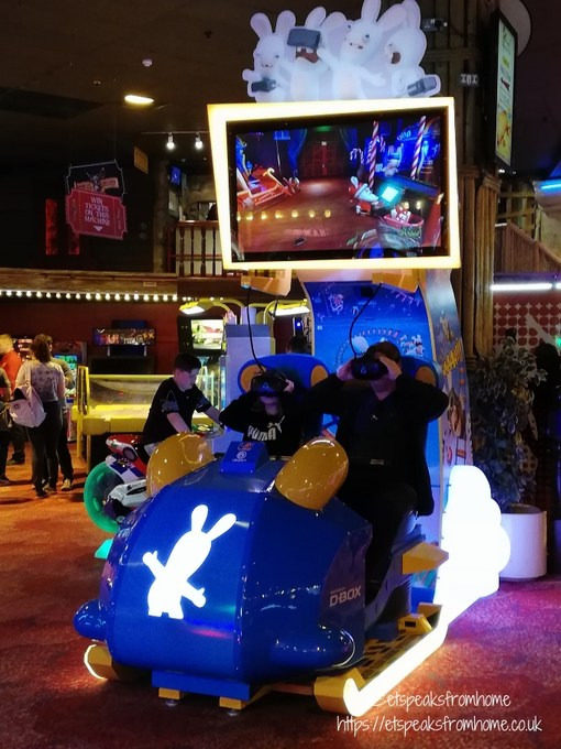 A Day Trip to Coral Island Blackpool vr ride
