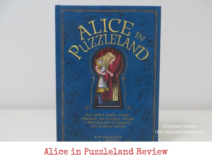 Alice in Puzzleland Book Review & Giveaway